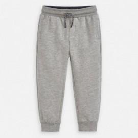 Dlouhé sportovní kalhoty pro chlapce Mayoral 742-25 šedá