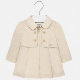 Dívčí kabát Mayoral 1474-27 béžová