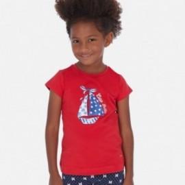Tričko pro dívku Mayoral 3017-32 červené