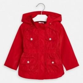 Větruvzdorná bunda pro dívku Mayoral 3471-67 červená