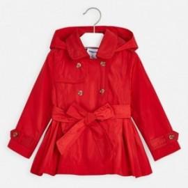 Dívčí kabát Mayoral 3474-91 červená