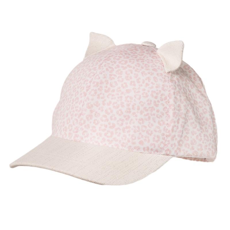 KOCIAK organické čepice dívky Jamiks JLC096 barva růžová