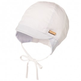 NOAH organická pletená čepice Jamiks JLC065 barva bílá / modrá