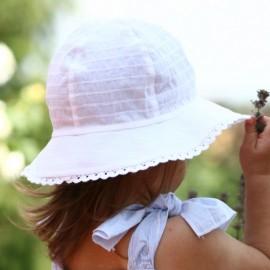 Pupill AFRODYTA klobouk dívčí barva bílá