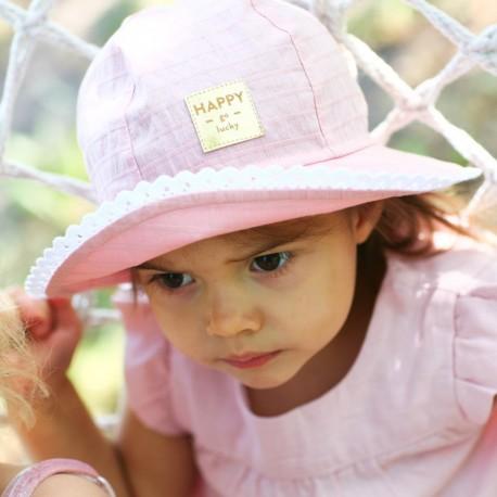 Pupill AFRODYTA Klobouk pro dívky růžový