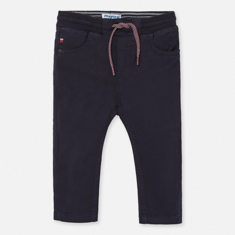 Kalhoty elastické pro chlapce Mayoral 1547-70 granát