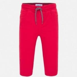 Kalhoty elastické pro chlapce Mayoral 1547-69 červené