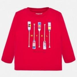 Chlapecké košile s dlouhým rukávem Mayoral 1055-75 Červené
