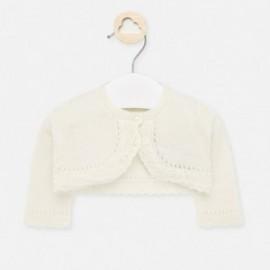 Elegantní svetr pro dívku Mayoral 1317-58 krém