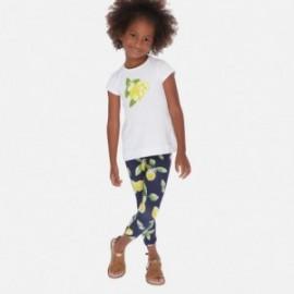 Sada dívčí halenky a legíny Mayoral 3725-40 Žlutá