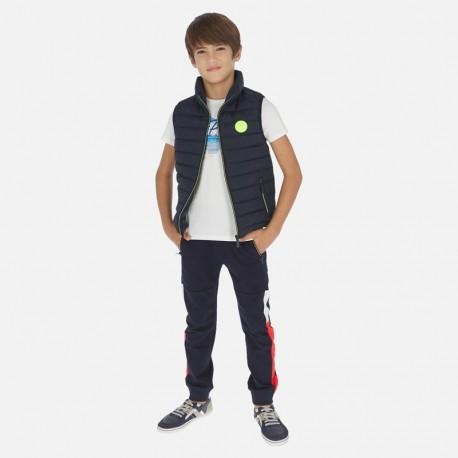Kalhoty tepláky chlapci Mayoral 6527-57 tmavě modrá