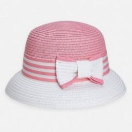 Elegantní klobouk pro dívku Mayoral 10816-95 Růžový