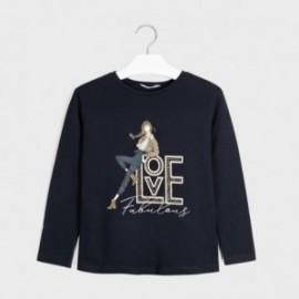 Mayoral 7068-33 námořnické tričko s dlouhým rukávem pro dívky