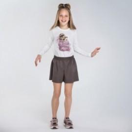 Tričko s dlouhým rukávem holčičí Mayoral 7070-79 krém