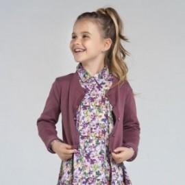Dívčí svetr Mayoral 7332-15 fialový