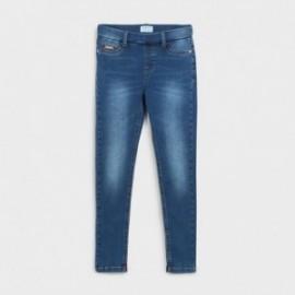 Základní džíny pro dívky Mayoral 578-67 granát