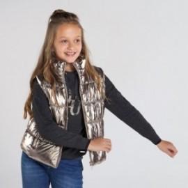 Izolovaná vesta pro dívku Mayoral 7337-47 Staré zlato