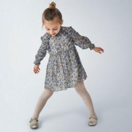 Společenské šaty pro dívky Mayoral 4971-26 modrý