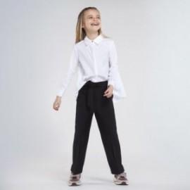 Oříznuté kalhoty pro dívky Mayoral 7536-44 černé