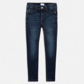Mayoral 85-53 džíny pro dívky granát