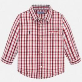 Odzież dziecięca Koszula w kratkę, długim rękawem z kieszonką z kolekcji chłopiec Mayoral baby boy sezon wiosna lato kod 1165-33