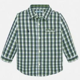 Kostkovaná košile pro chlapce Mayoral 1165-32 modrá