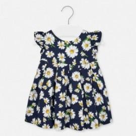 Květinový tisk šaty pro dívku Mayoral 1930-59 Granát