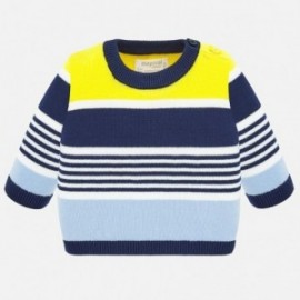 Pletený sveter pre chlapcov Mayoral 1319-85 žltá