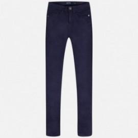 Dlouhé kalhoty pro chlapce Mayoral 520-13 granát