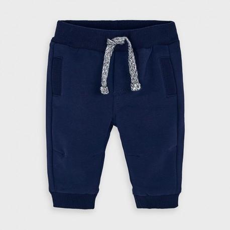 Pletené kalhoty pro chlapce Mayoral 719-30 granát
