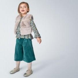 Kalhotové kalhoty pro dívky Mayoral 4546-7 tyrkysová