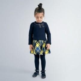 Elegantní šaty pro dívky Mayoral 4961-64 Granát