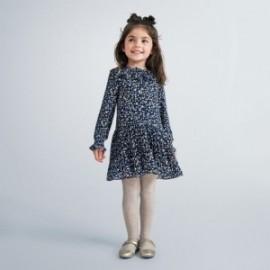 Šaty se srdíčky pro dívky Mayoral 4975-90 Granát