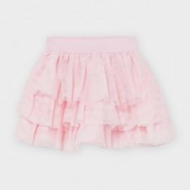 Tylová sukně pro dívku Mayoral 2939-62 Růžový