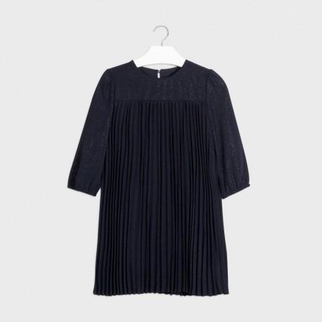 Elegantní šaty pro dívky Mayoral 7962-38 Granát