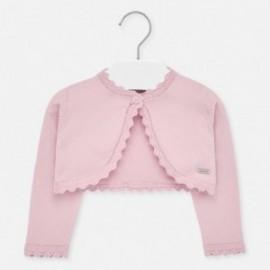 Pletený svetr pro dívky Mayoral 306-84 růžový