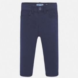 Spodnie serża slim fit basic chłopiec Mayoral 506-34 Granatowy