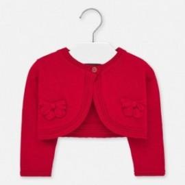 Pletený svetr pro dívky Mayoral 1326-34 červený
