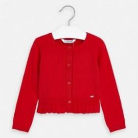 Dívčí svetr Mayoral 3320-78 červený