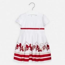 Formální šaty pro dívku Mayoral 3925-27 červená