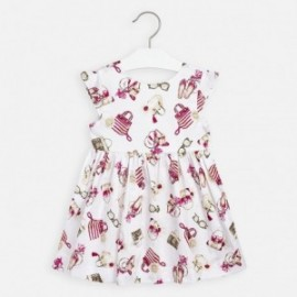 Elegantní šaty pro dívku Mayoral 3946-16 barevné