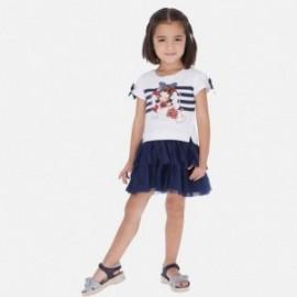 Šaty pro dívku Mayoral 3958-42 granát