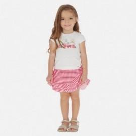 Sada sukně a halenky pro dívčí Mayoral 3964-10 červená