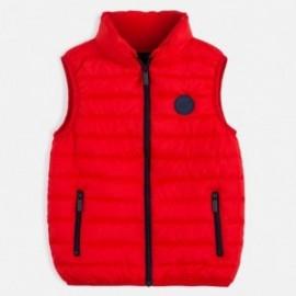 Chlapecká zateplená vesta Mayoral 6453-49 Červené