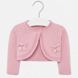 Pletený svetr pro dívky Mayoral 1326-31 růžový