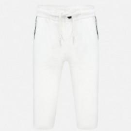 Klasické chlapecké kalhoty Mayoral 1555-19 Krémová